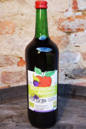 Bio Aronia-Apfelsaft (Naturtrüb)