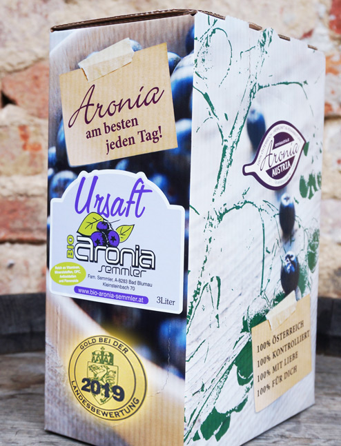 Bio Aronia Ursaft - §L Bag in Box