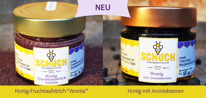 Honig Aronia Produkte